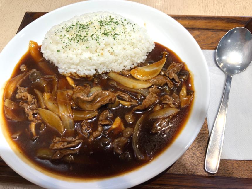 松阪牛のハッシュドビーフ